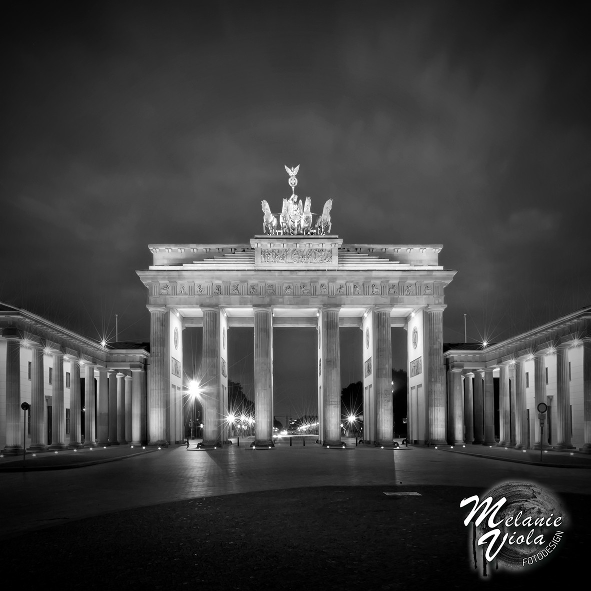 Brandenburger Tor BERLIN sw | OhMyPrints Onlineshop
