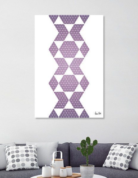 Abstract Geometric | retro style no. 1 - CURIOOS Onlineshop
