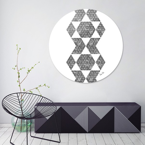 Abstract Geometric | retro style no. 5 - CURIOOS Onlineshop