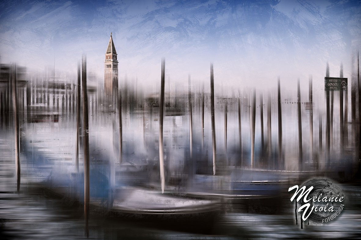 City-Art VENEDIG Canal Grande & Markusturm | OhMyPrints Onlineshop