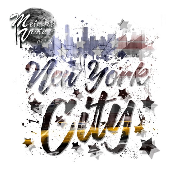 City-Art NYC Composing | Typography - OhMyPrints Onlineshop