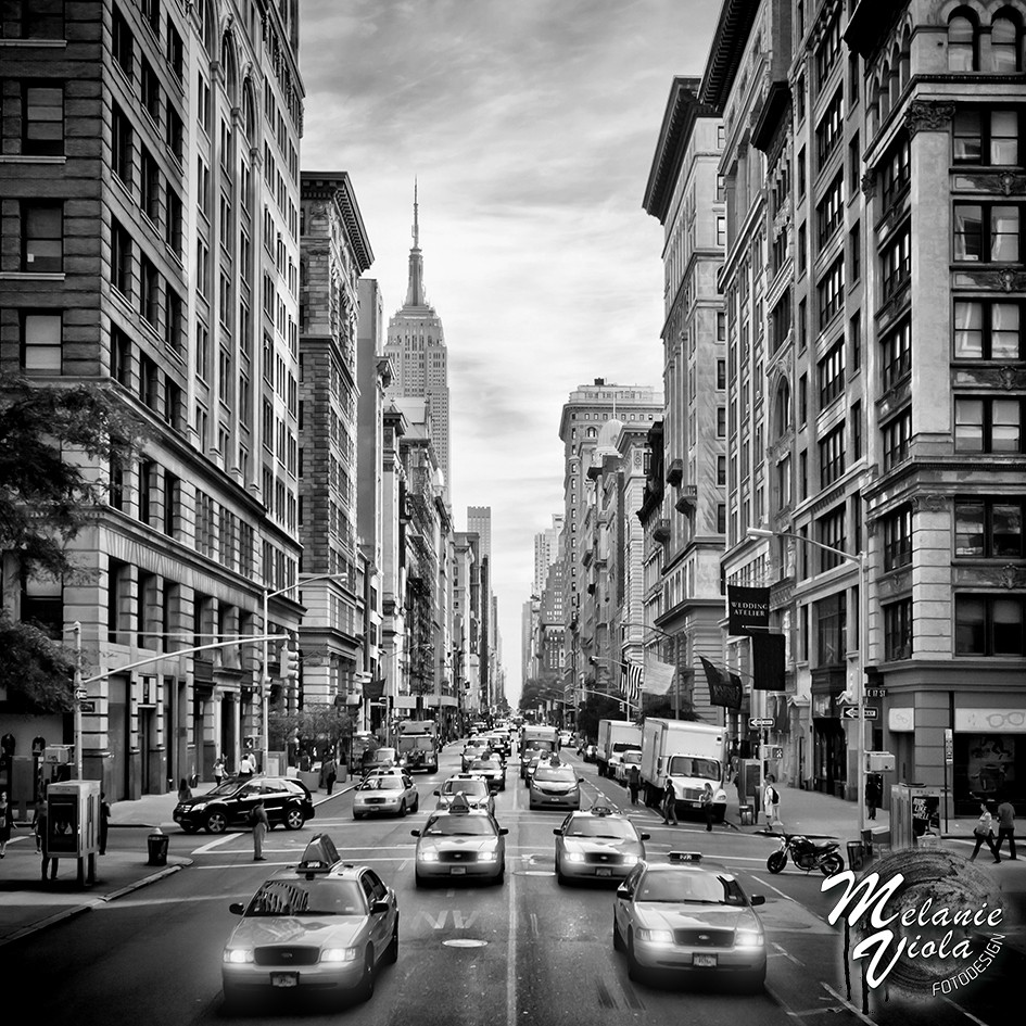 NYC 5th Avenue s/w | OhMyPrints Onlineshop