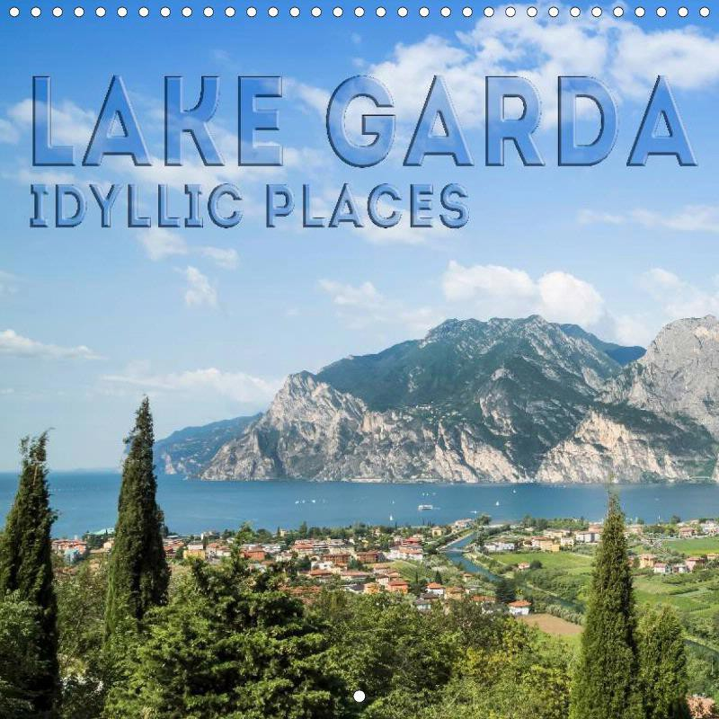 "CALENDAR ""LAKE GARDA Idyllic Places"""