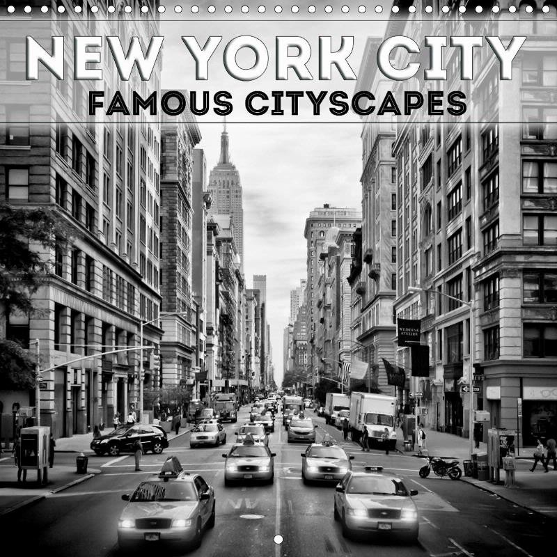 "CALENDAR ""NEW YORK CITY Famous Cityscapes"""