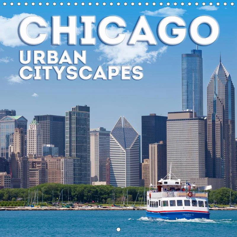 "CALENDAR ""CHICAGO Urban Cityscapes"""