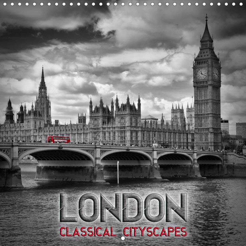 "CALENDAR ""LONDON Classical Cityscapes"""
