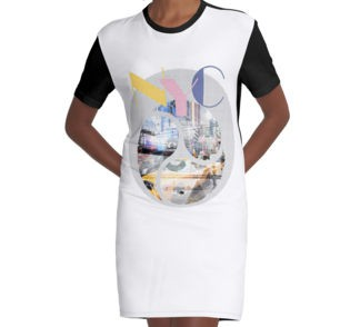 REDBUBBLE T-Shirt Kleid