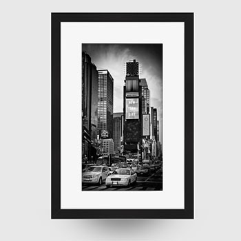NEW YORK CITY Times Square | Monochrom - Link zum artboxONE Onlineshop