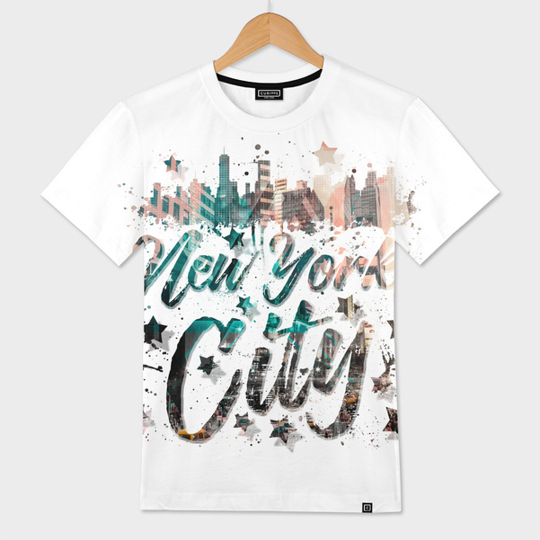 New York City Typography | Geometric Mix No. 4 - CURIOOS Onlineshop