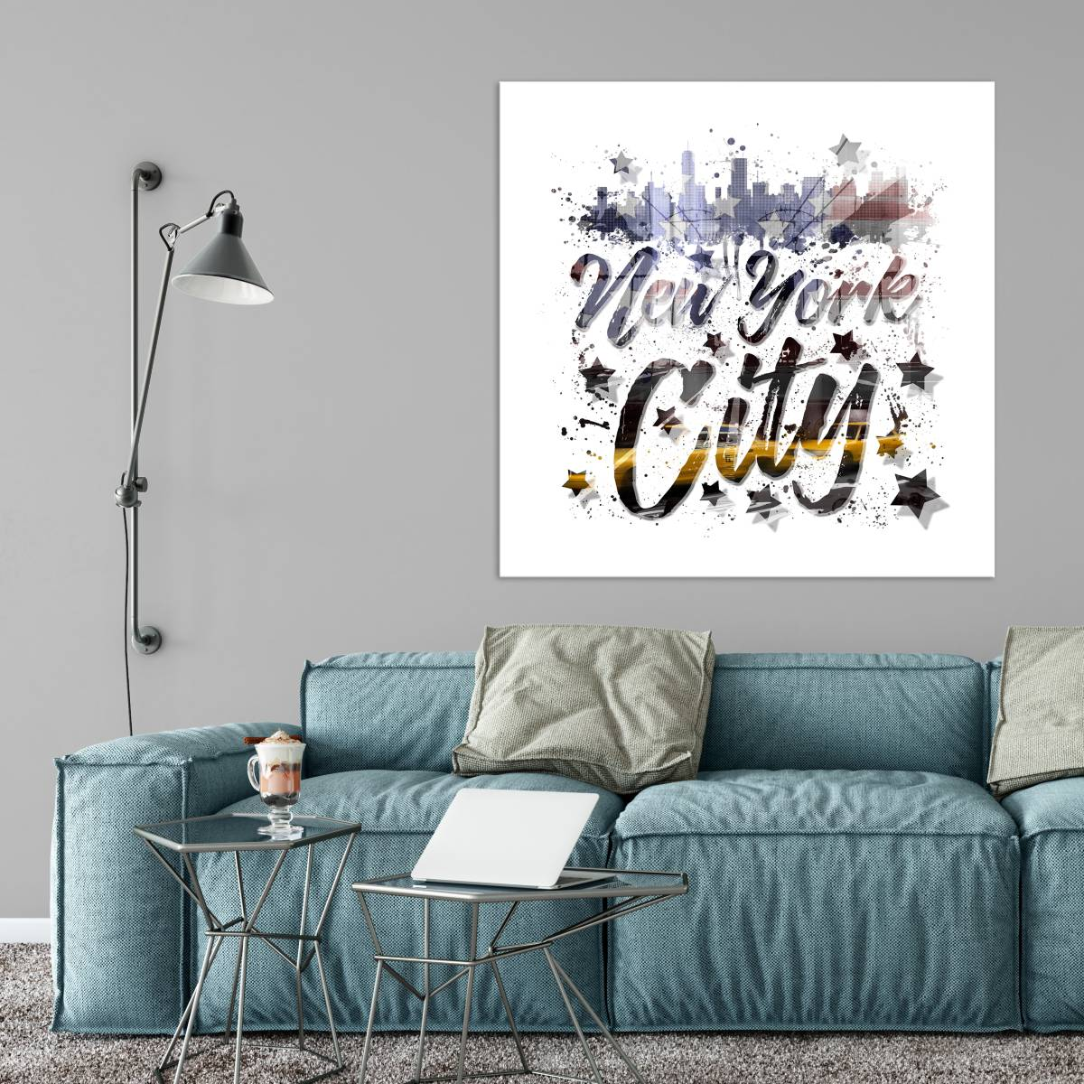 City-Art NYC Composing | Typography - Link OhMyPrints