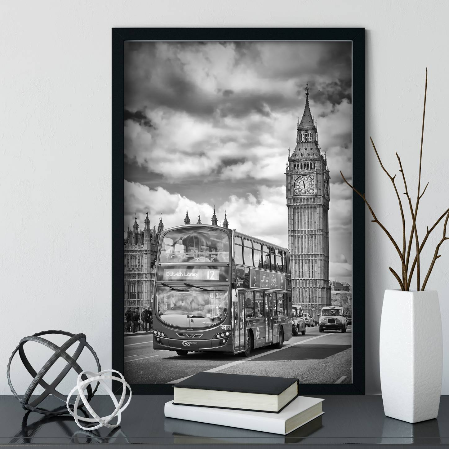 """LONDON Houses of Parliament und Verkehr"" - Link OhMyPrints Onlineshop"