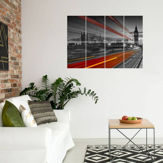 Link to Displate - LONDON - Westminster Bridge - 8 metal prints