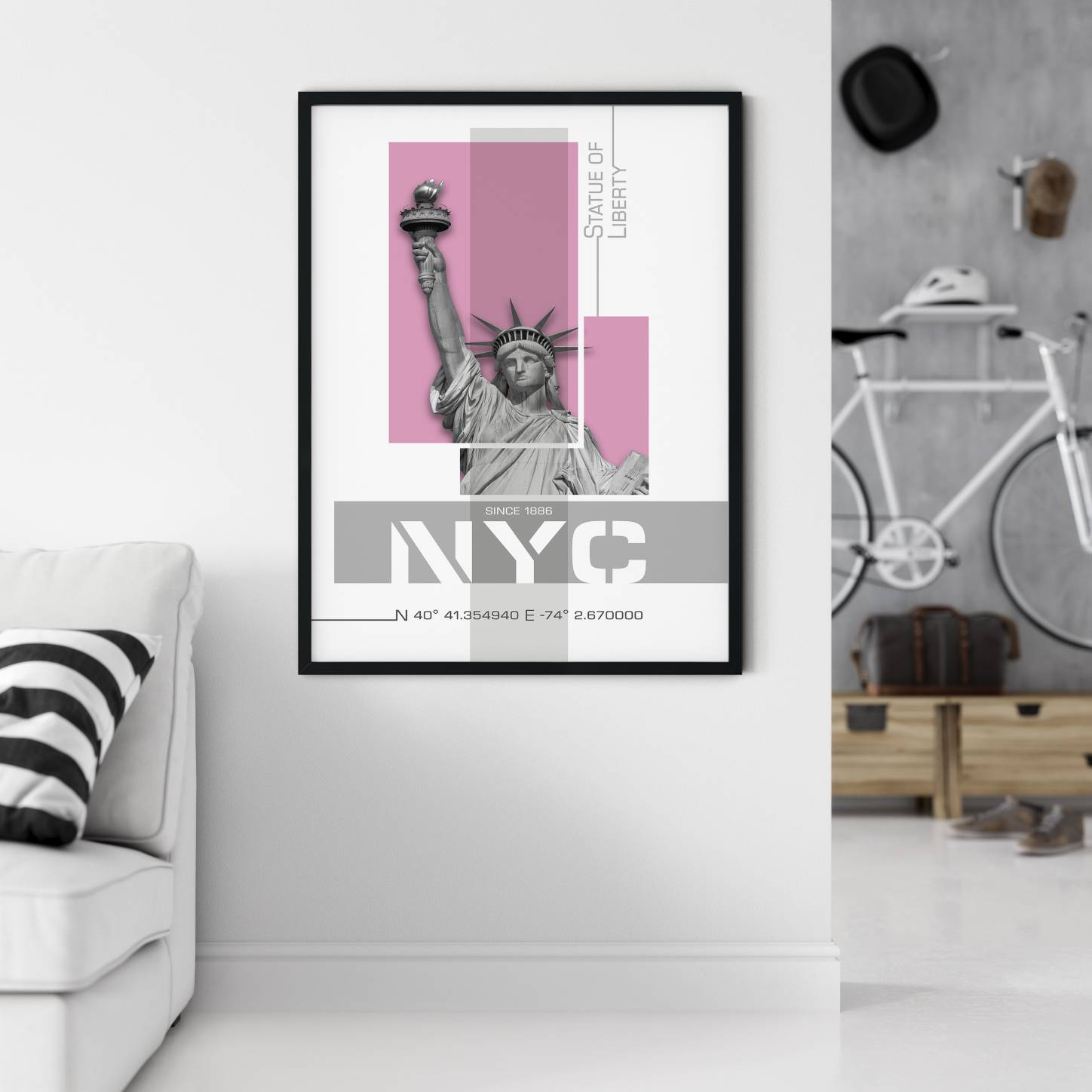 """NYC Statue of Liberty"" - LINK to Displate"