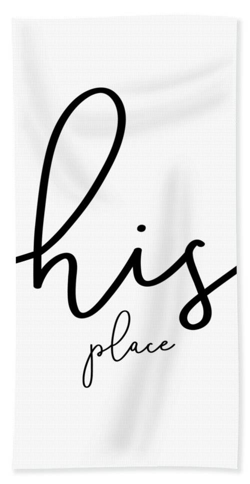 "LINK - PIXELS.COM - Strandtuch / Beach Towel - ""His place"""