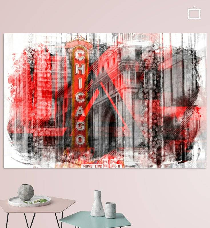Chicago | Geometric Mix No. 4 - OhMyPrints Onlineshop