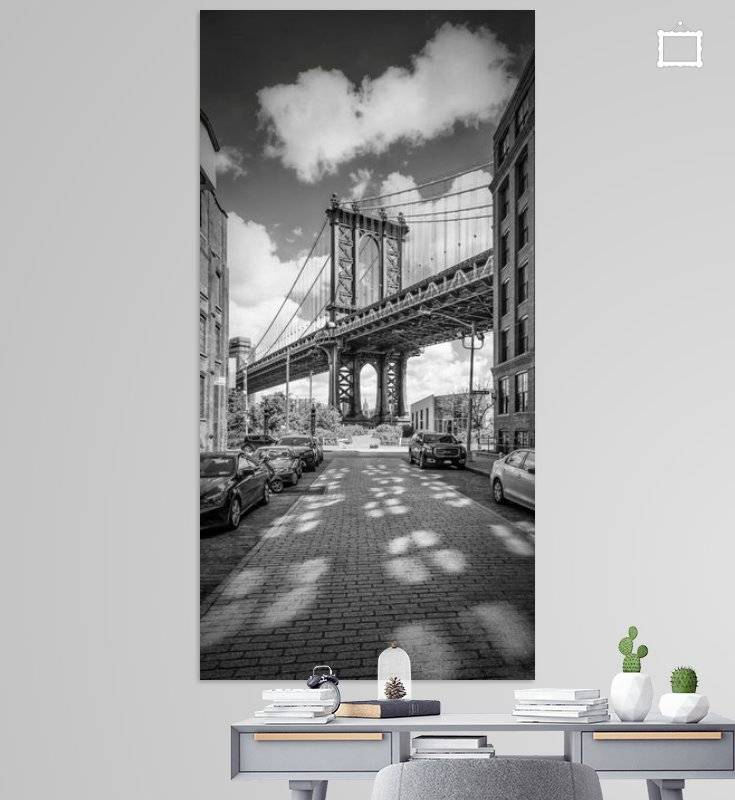 NEW YORK CITY Manhattan Bridge | Panorama - OhMyPrints Onlineshop
