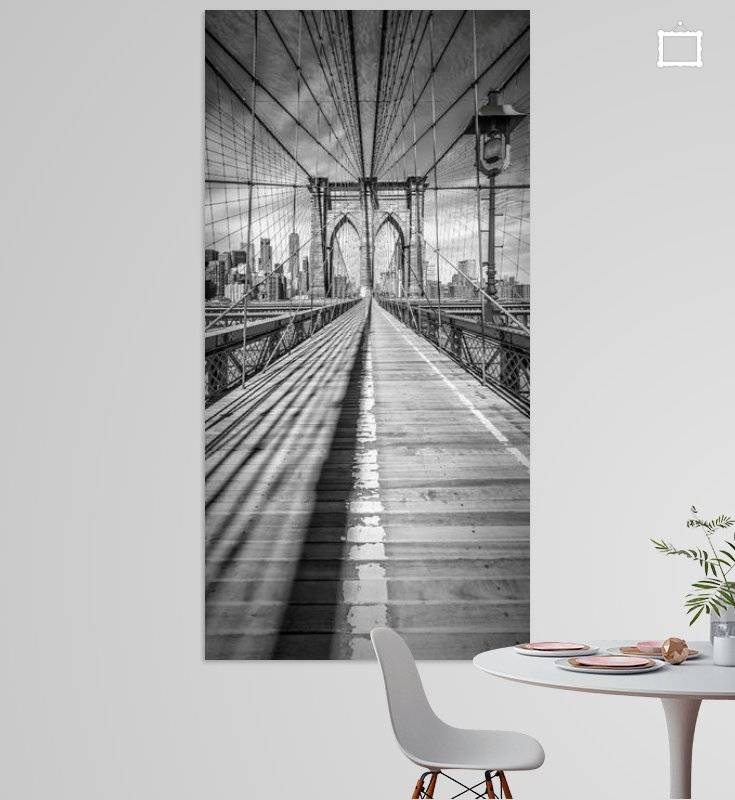 NEW YORK CITY Brooklyn Bridge | Panorama - OhMyPrints Onlineshop