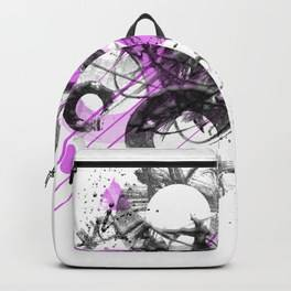 "LINK - SOCIETY6 Backpack - ""Abstract Art GEOMETRIC SHAPES No. 1"""