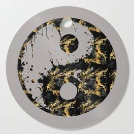 "LINK - SOCIETY6 Cutting Boards ""Abstract YIN AND YANG Taijitu Symbol 