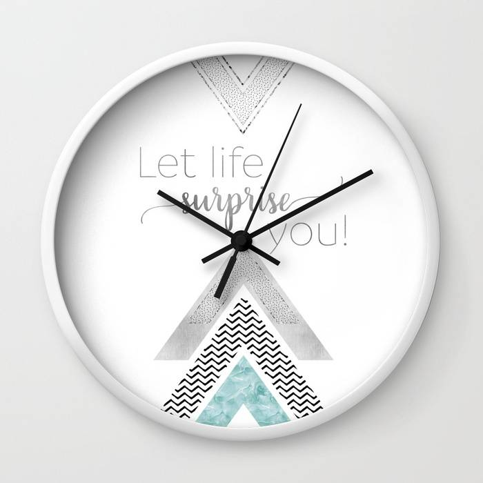 "Link SOCIETY6 ""GRAPHIC ART Let life surprise you 