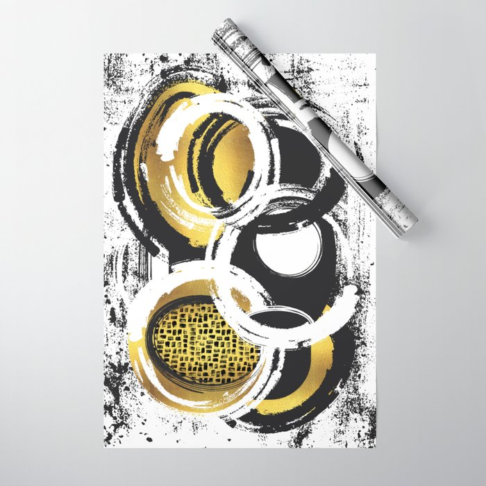 Abstract Painting No. 2 | gold - LINK SOCIETY6