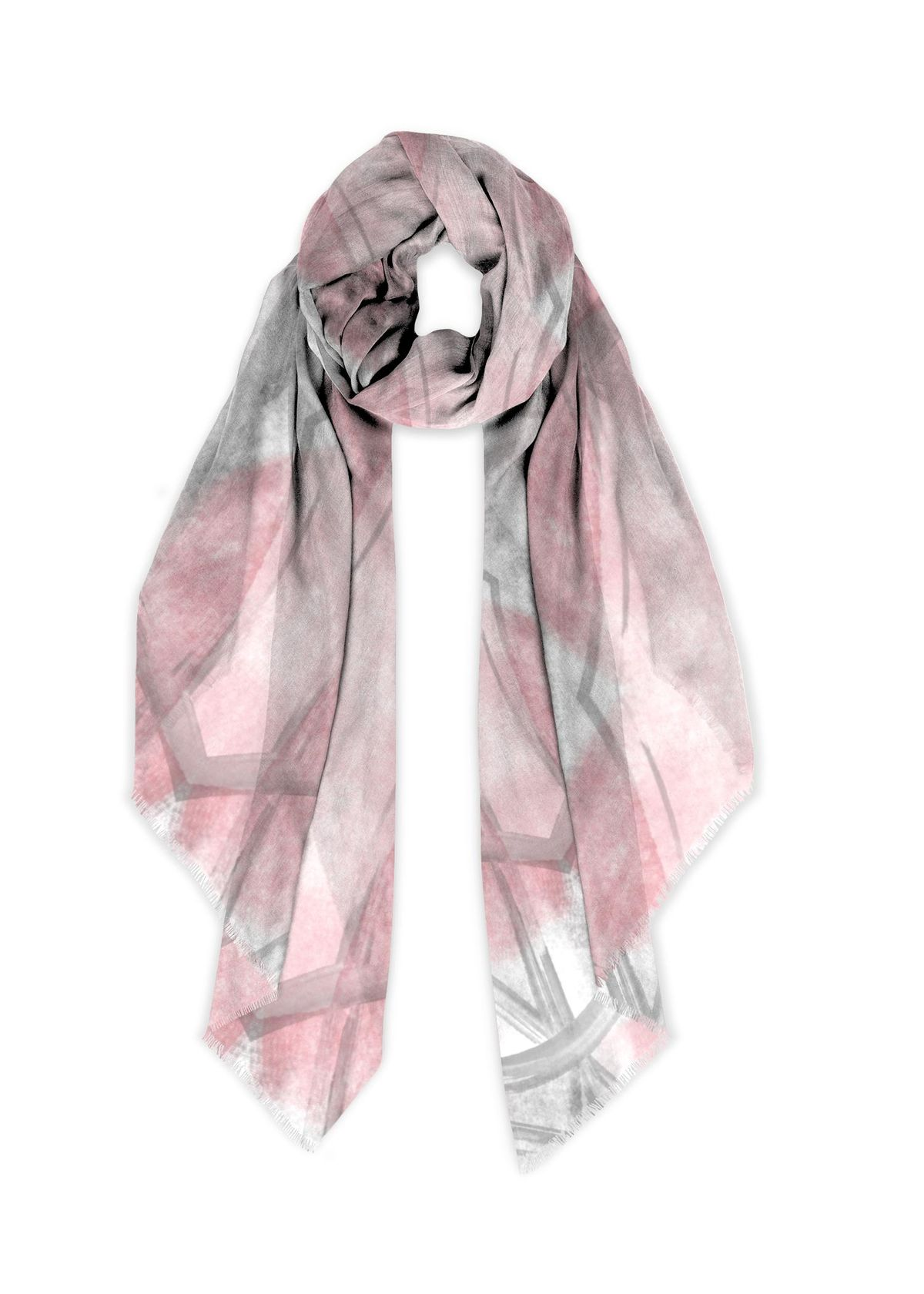 Modal Scarf (exclusive design) Abstract Painting No. 16 - LINK to VIDA
