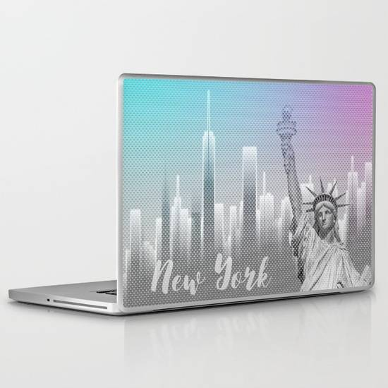 "LINK - Society6 - Laptop Skin 13"" PC Laptop (12.4"" x 8.5"")"