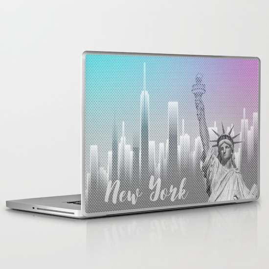 LINK - Society6 - Laptop Skin 13