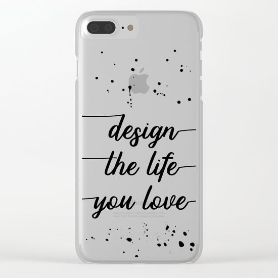 LINK - Society6 - Clear iPhone Case - Slim Case iPhone 8 Plus