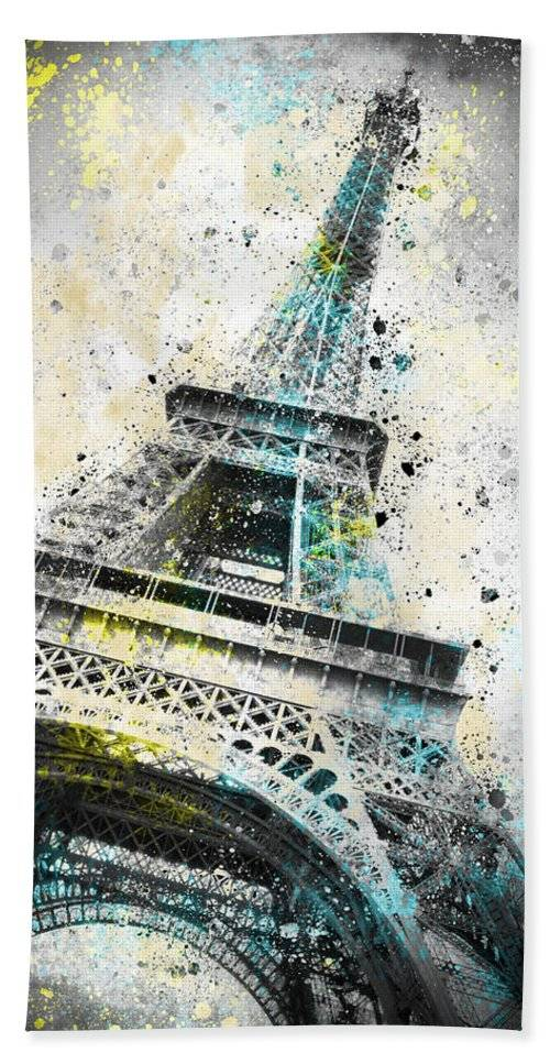 "LINK - PIXELS.COM - Strandtuch / Beach Towel - ""City-Art PARIS Eiffel Tower IV"""