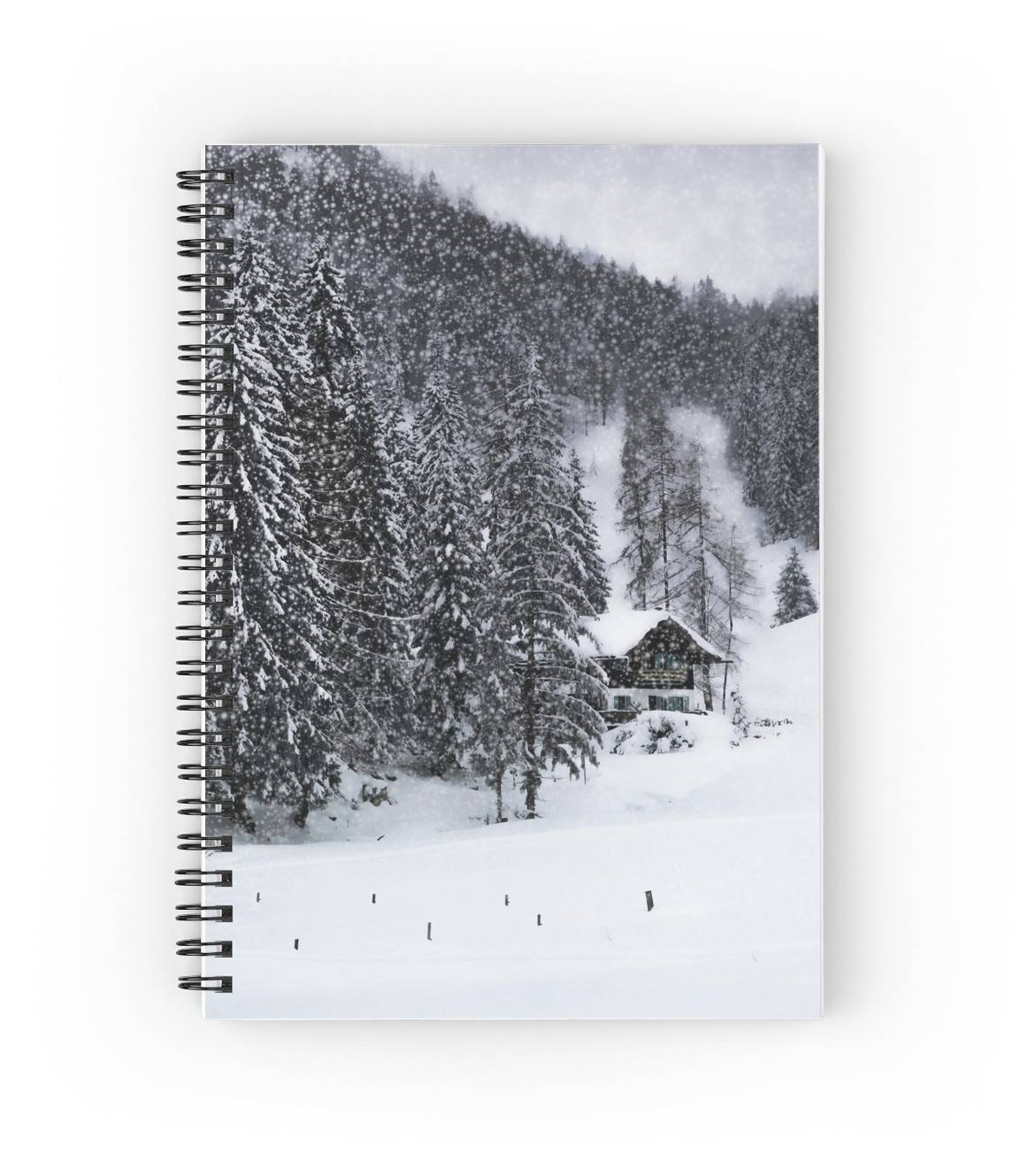 "LINK - Redbubble - Spiralblock - ""Bavarian Winter"