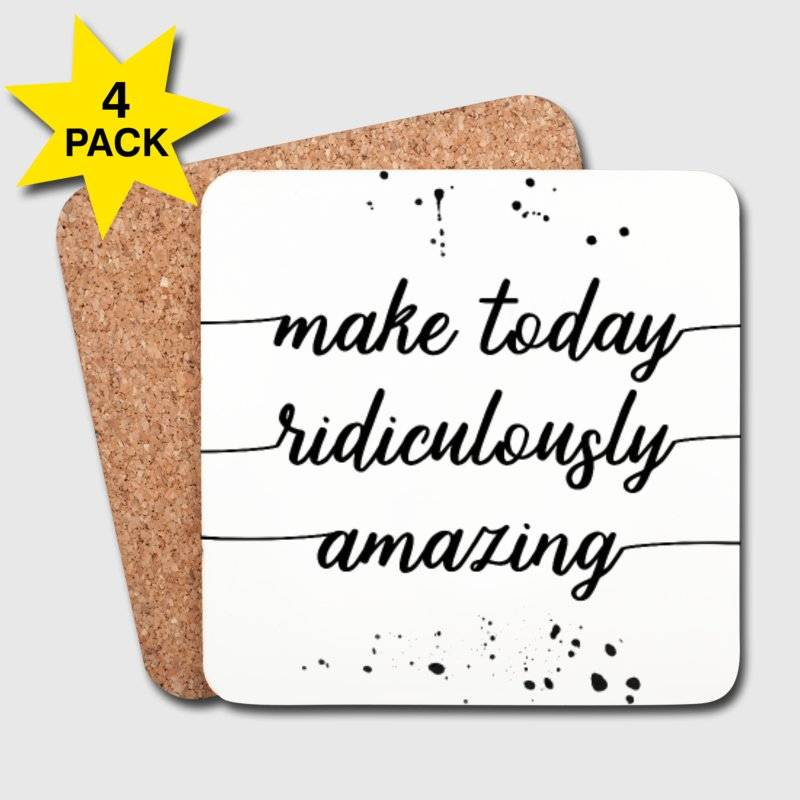 "LINK - SPREADSHIRT ""Make today ridiculously amazing"""