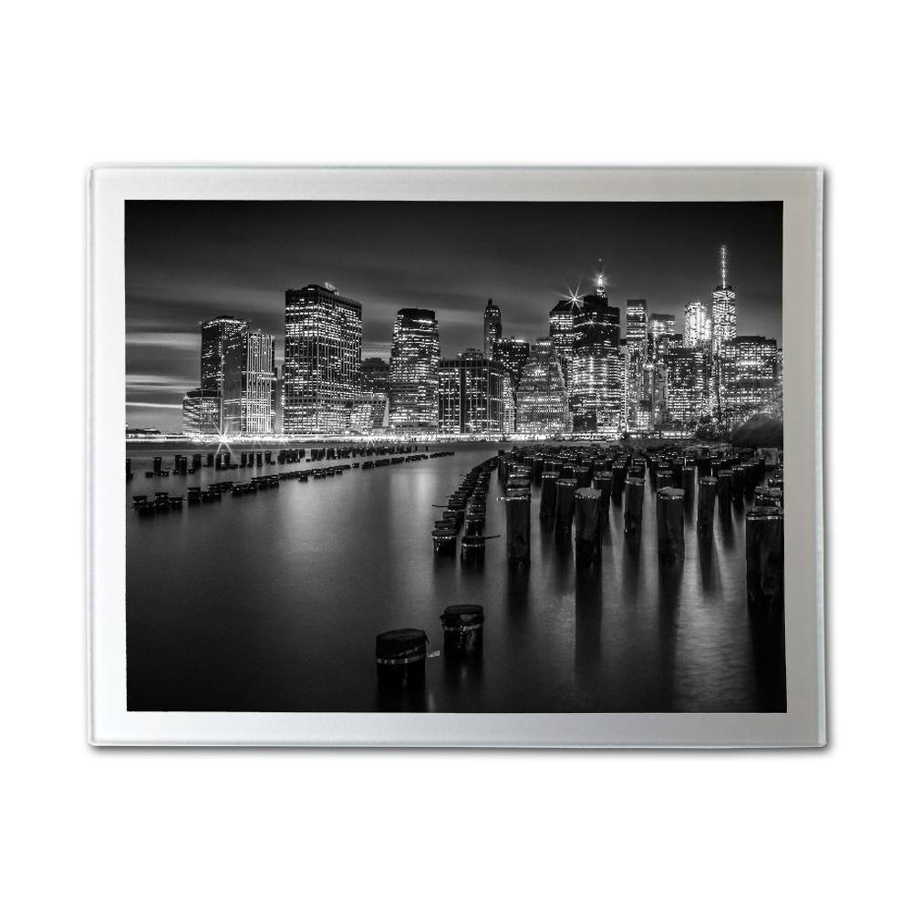 "LINK - ZIPPI ""Manhattan Skyline bw"""