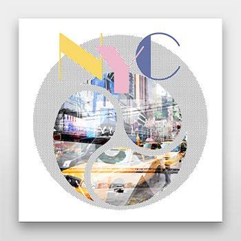 TRENDY DESIGN New York City | Geometric Mix No 1 - Link zum artboxONE Onlineshop