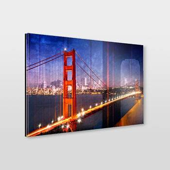 City Art Golden Gate Bridge Composing - Link zum artboxONE Onlineshop