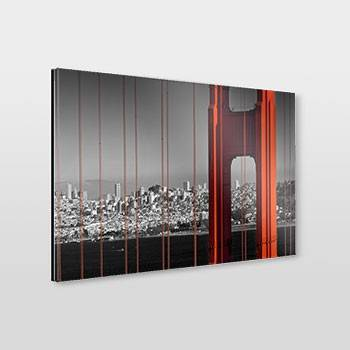 Golden Gate Bridge & San Francisco Skyline - Link zum artboxONE Onlineshop