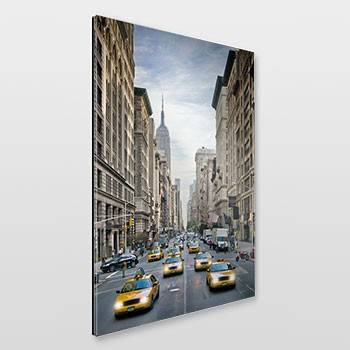 NEW YORK CITY 5th Avenue Straßenszene - Link zum artboxONE Onlineshop